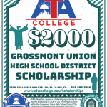 2020/2021 Grossmont Union High School District Scholarship
