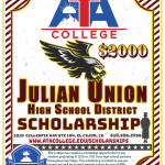 2020/2021 - Julian Union High School District Scholarship