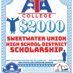 2020/2021 - Sweetwater Union High School District Scholarship