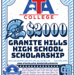 2020/2021 - Granite Hills High School Scholarship