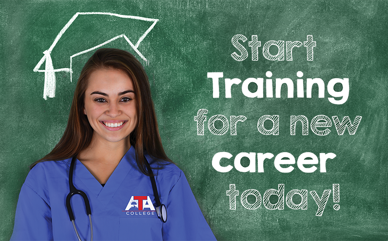 start training for a new career today